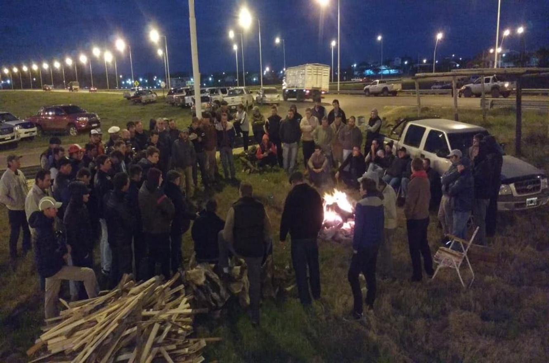 protesta productores