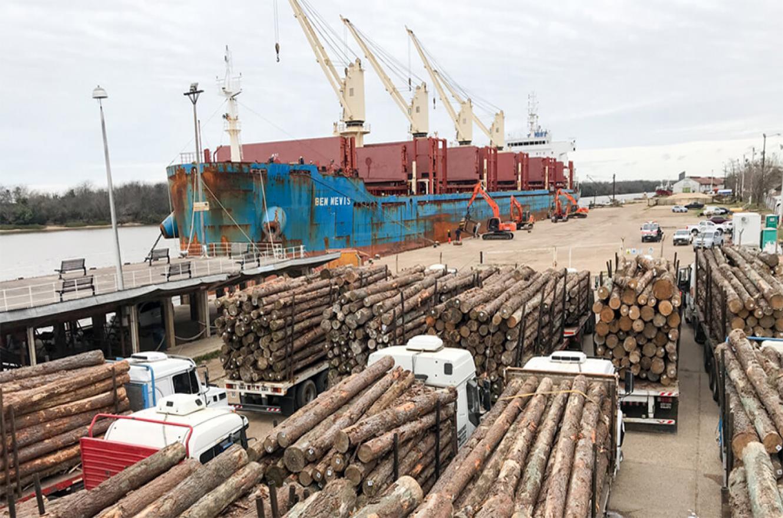 Entre Ríos encara un trabajo inter ministerial para elaborar el perfil competitivo vinculado al desarrollo del sistema portuario y logístico del transporte fluvial.