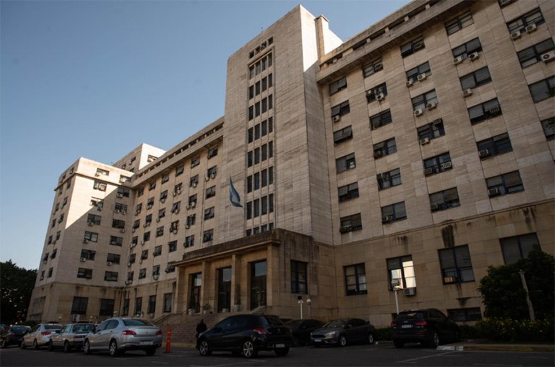 Los tribunales de Comodoro Py.