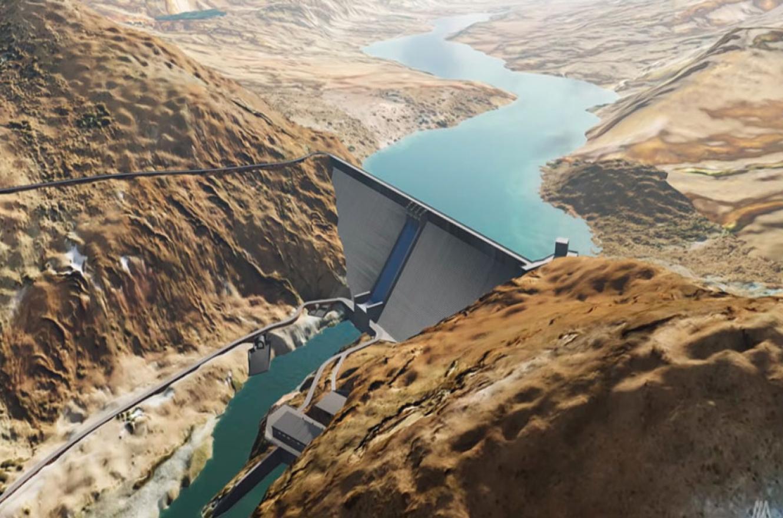 El megaproyecto hidroeléctrico Portezuelo del Viento tiene un plazo de ejecución de cinco años.