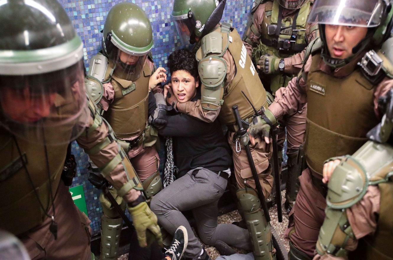 Represión en Chile