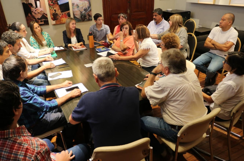 Zoff dialogó con vecinalistas sobre la reforma a la ordenanza de Comisiones Vecinales
