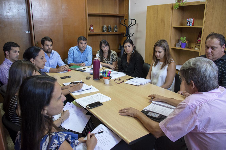 En la provincia se fortalece el trabajo interministerial vinculado con el Plan Nacional contra el Hambre.