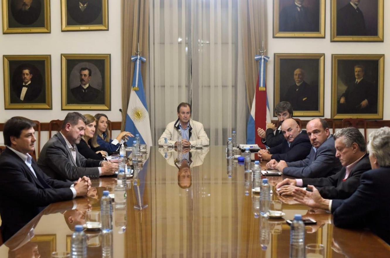 Bordet con presidentes de bloques