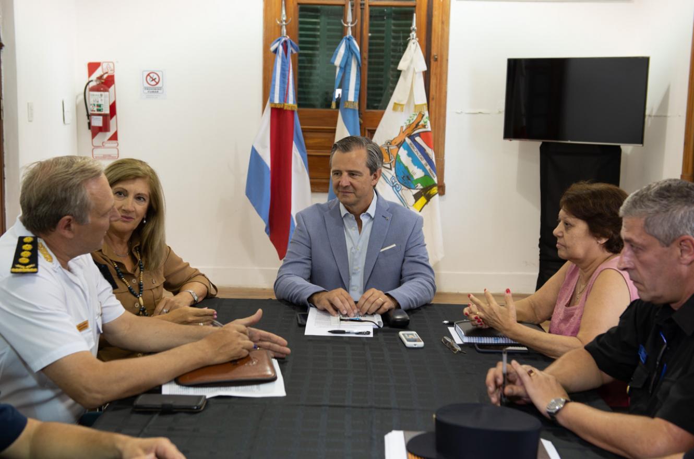 Adán Bahl con Rosario Romero y Gustavo Maslein