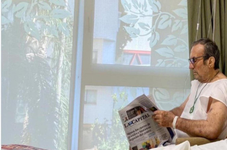 Carlos Reuteman internado en recuperación