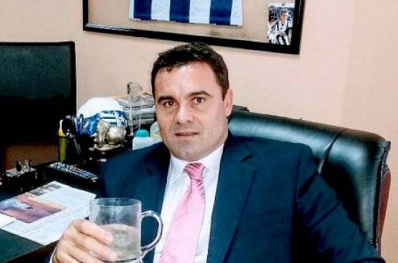 """Alejandro """"Tanque"""" Kenig, ex futbolista de Deportivo Español y Talleres de Córdoba."""