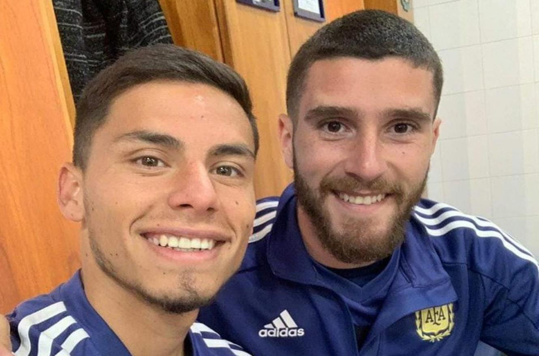 Nuevamente citaron a los entrerrianos Senesi y Robertone a la selección argentina sub 23