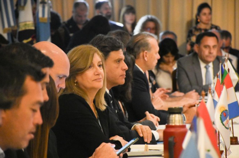 Rosario Romero en el Consejo Federal de Seguridad