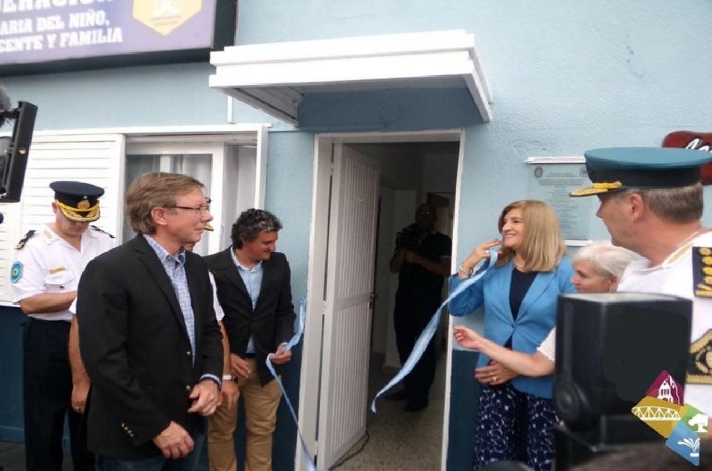 Romero inauguró comisaría en Federación