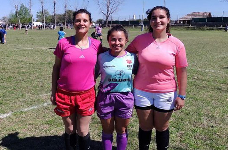 Una terna arbitral femenina hizo historia desde Entre Ríos en el rugby nacional