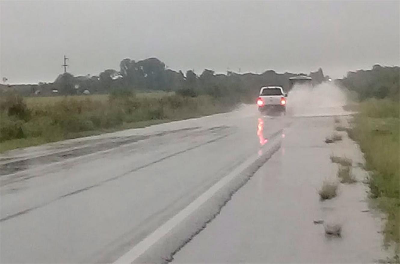 ruta inundada