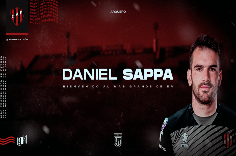 Patronato hizo oficial la llegada de Daniel Sappa