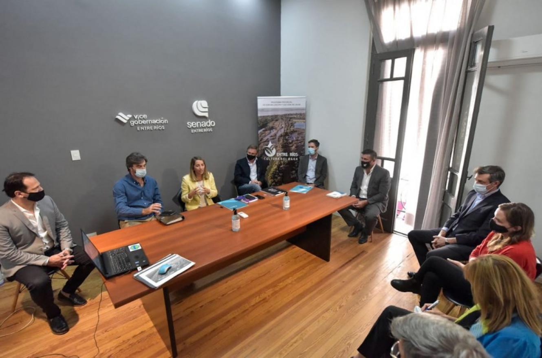 Realizaron la primera reunión intergubernamental del programa provincial Cultura del Agua