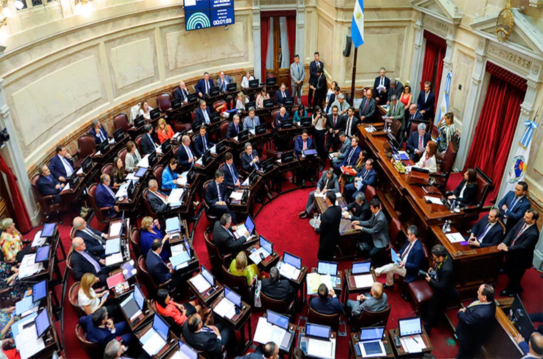 Preparatoria y pliegos — Sesiona el Senado