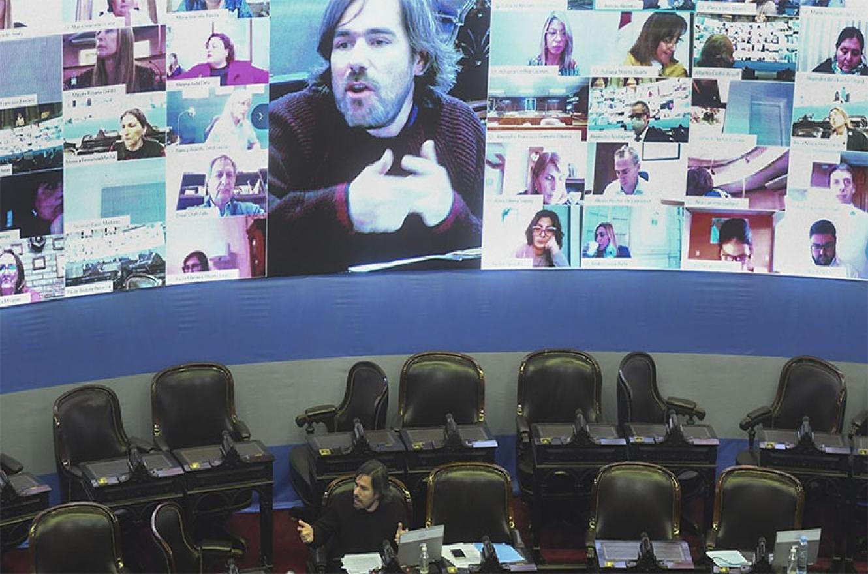 """Con el dictamen de consenso alcanzado el martes pasado, la Cámara baja está en condiciones de debatir en el """"plenario virtual"""" el proyecto del Poder Ejecutivo."""