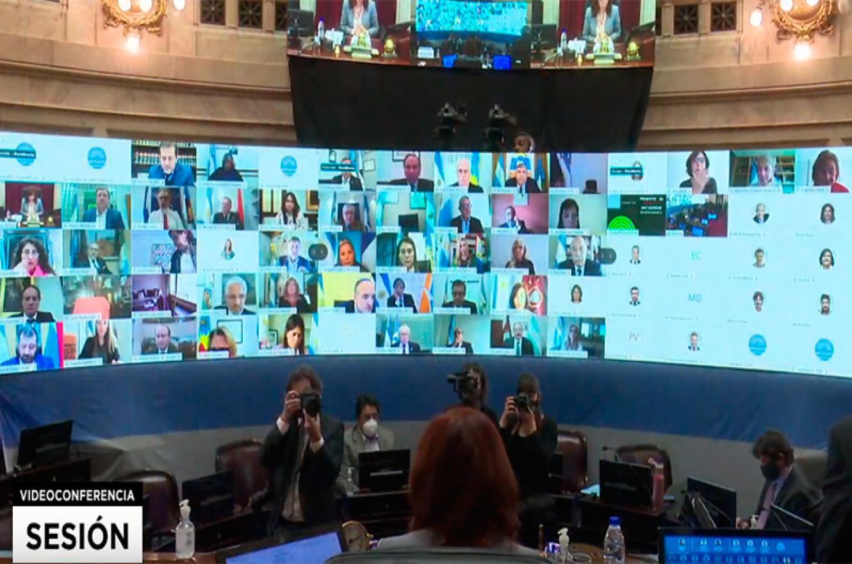 sesión virtual reforma judicial