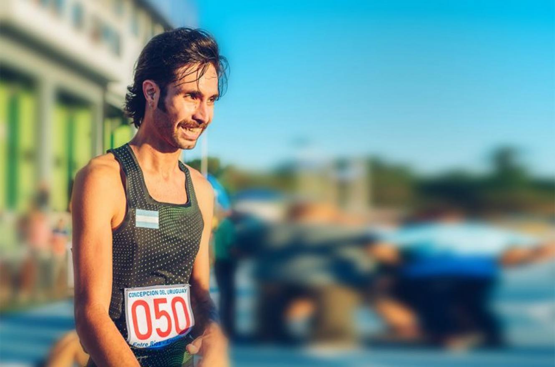 Atletismo: el concordiense Federico Bruno triunfó en Braga, Portugal