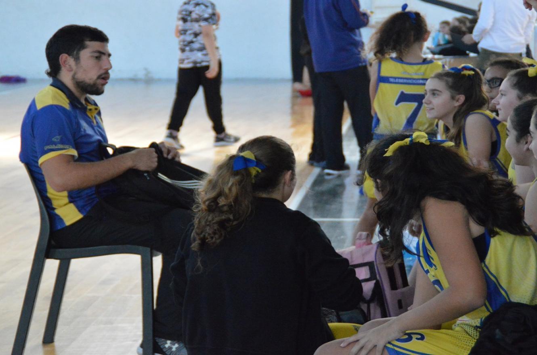 """Simón Gómez: """"Veo entusiasmadas a las chicas en participar del torneo desde casa"""""""
