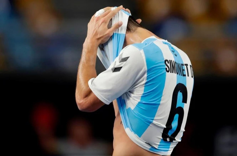 """Handball: """"Los Gladiadores"""" cayeron con Qatar y no pudieron meterse en cuartos de final"""