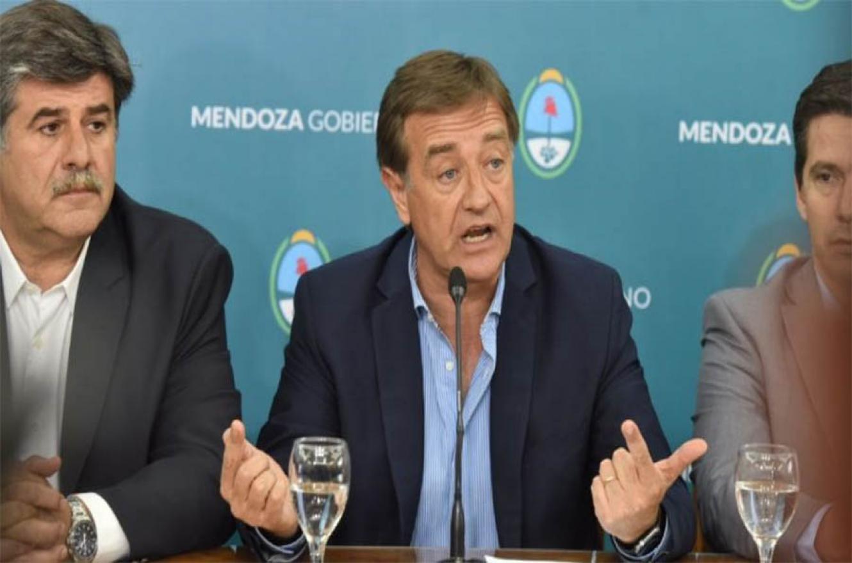 """""""No hay consenso social"""", reconoció el gobernador de Mendoza y anunció la derogación de la ley que autoriza la minería con contaminantes."""
