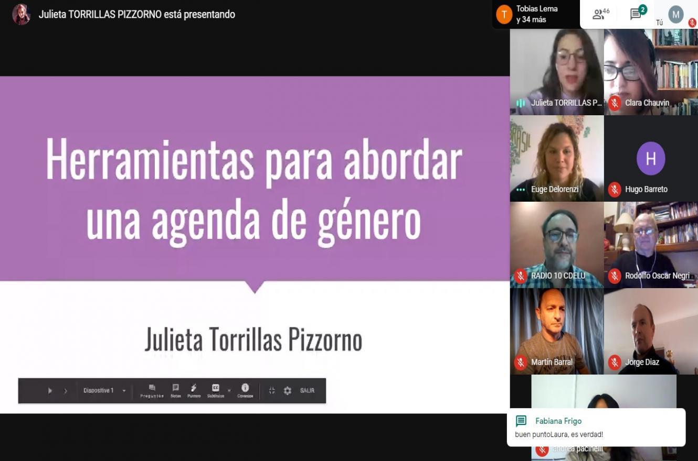 taller perspectiva de género en la comunicación
