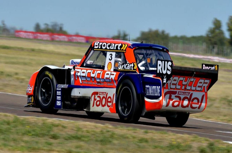 Mariano Werner abrió el año con el mejor tiempo de la primera clasificación del TC