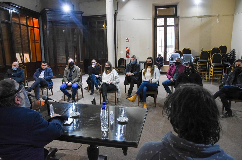 """El encuentro se desarrolló en el Salón """"Mariano Moreno""""."""
