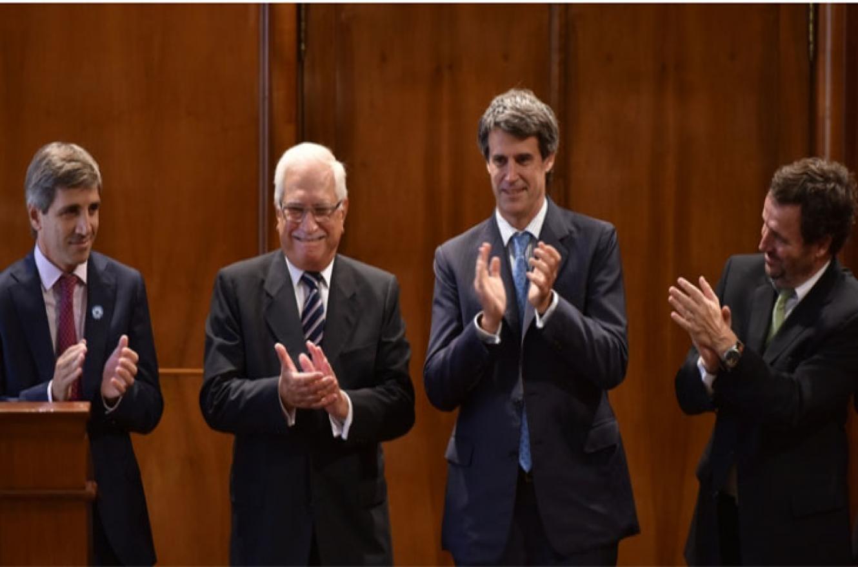 Jorge Todesca al asumir en el INDEC