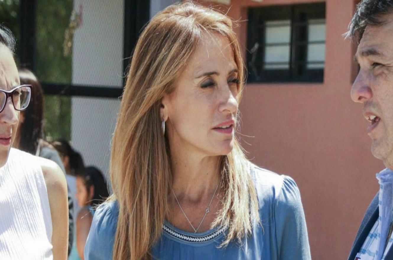 Victoria Tolosa Paz en Concepción del Uruguay