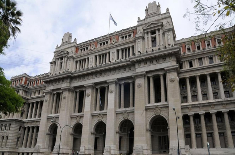 El Palacio de Tribunales.