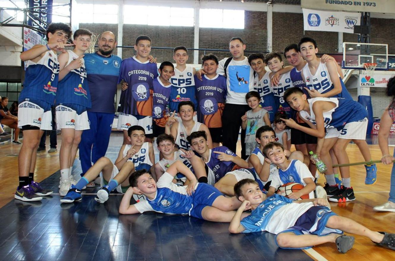 Básquet: Parque Sur se clasificó finalista del Campeonato Argentino de Clubes U13