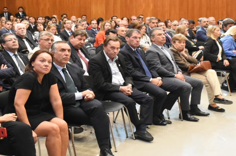 Urribarri y Varisco en la apertura del año judicial