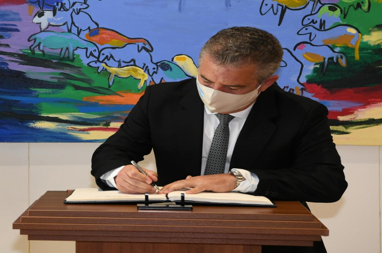 Urribarri como embajador en Israel