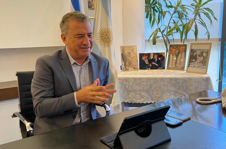 Sergio Urribarri embajador en Israel y Chipre