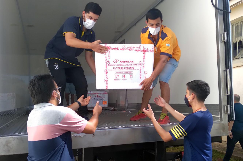 vacuna Covid llegada a Entre Ríos