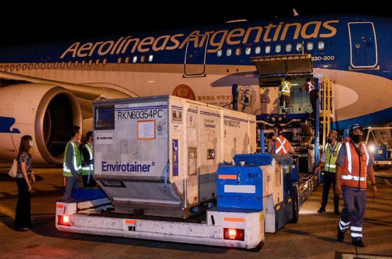 vuelo Aerolíneas vacunas Covid