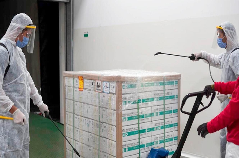 """Vizzotti definió la semana pasada que la cantidad de vacunas entregadas a cada provincia, que comenzaron a llegar el lunes pasado, tenga carácter de información pública y bajo pautas de """"total transparencia""""."""