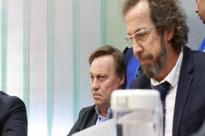 Sergio Varisco junto a Emilio Fouces, uno de sus abogados
