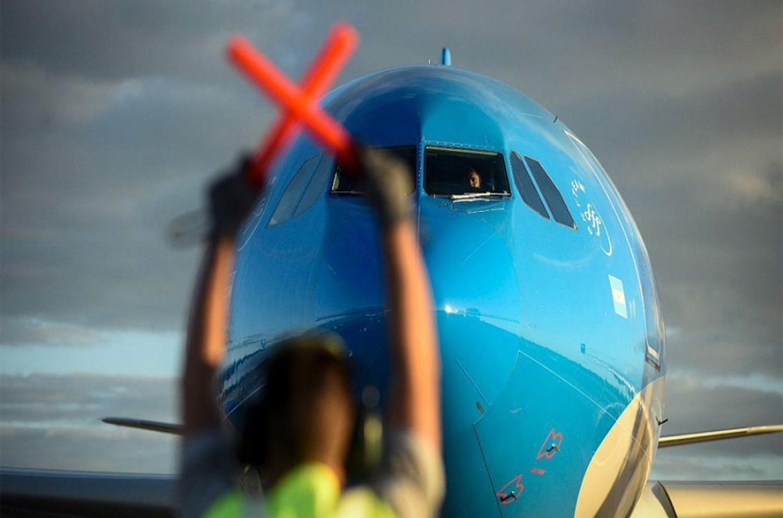 Hoy a las 2 despegó un nuevo avión carguero con destino a la Federación Rusa para buscar más vacunas Sputnik V.