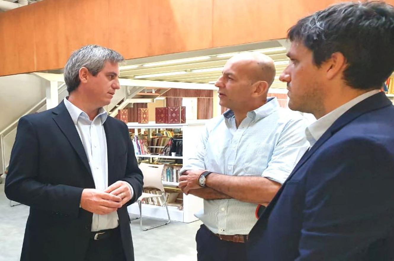Walser en misión comercial a Uruguay