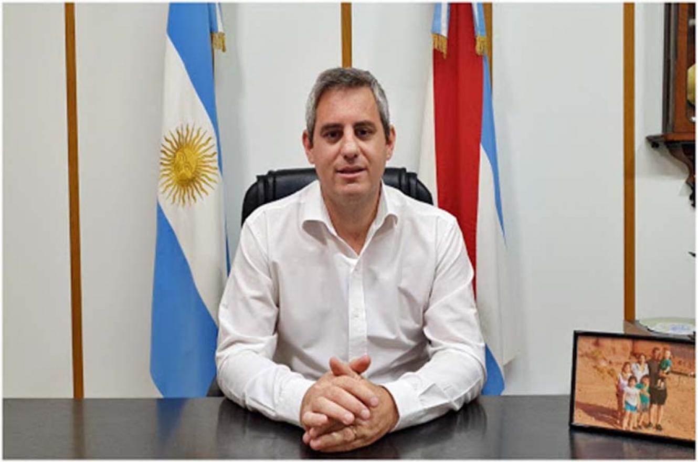 Fotografía de archivo del intendente de Colón, el vecinalista José Luis Walser.