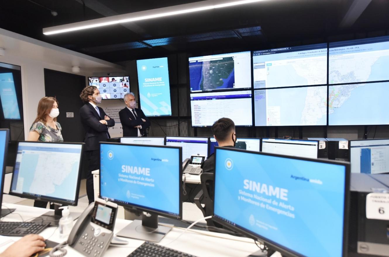 Presentaron el nuevo sistema digital del Siname