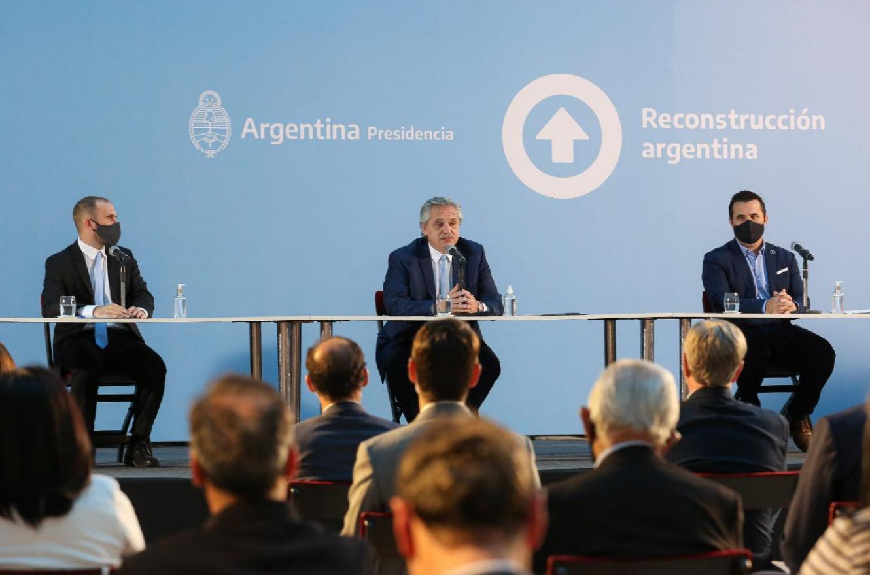 Fernández anunció un Plan de Promoción de la Producción de Gas Argentino