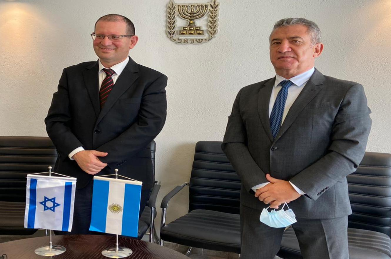 Foto prensa Embajada Argentina en Israel