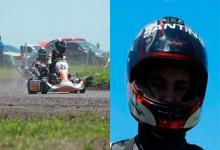 Accidente en karting.