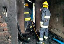 Incendio en Feliciano.