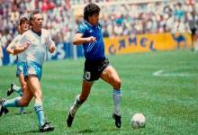 """A 35 años de la obra maestra de Maradona, Argentina volvió a gritar el """"Gol del Siglo"""""""