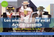 """""""Los años 20 y 30 en el Arte Argentino"""""""