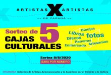 "Continúa la campaña ""Artistas x Artistas"""